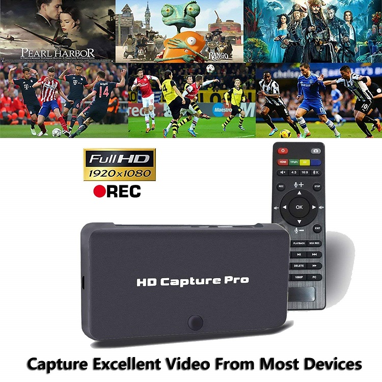 Fully Functional 4K HD Video Capture Stand alone recorder hdmi video capture ezcap295