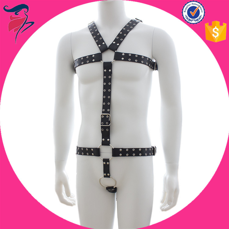 Full body harness sex men leather harness manufacturer