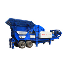 China professional high efficiency mobile crusher portable crushing plant with low price