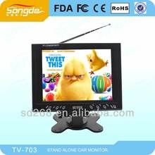 OEM service mini car lcd TV monitor