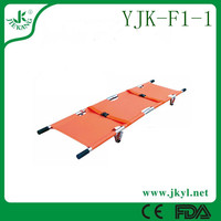 YJK-F1-1 Easy handle easy carry foldable emergency stretcher for sale