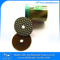 Air Freight 30 g Weight Per Piece Diamond Polishing Pads Dry Use