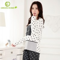 autumn comfortable breathable fancy nighty women