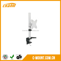Glass table lcd tv mount for 10