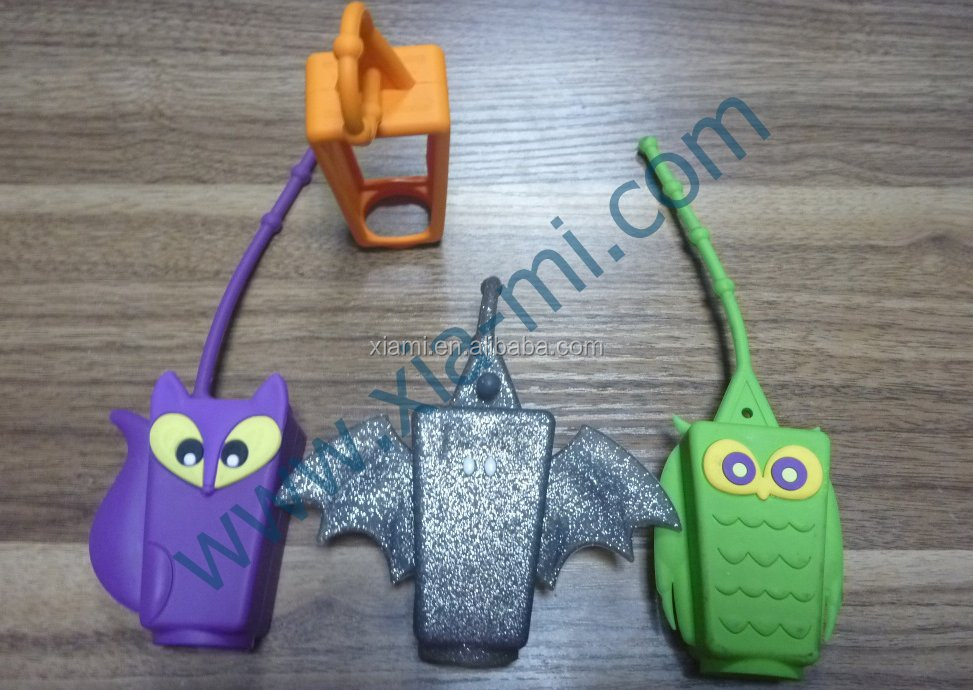 high level well design lovely animal mode silicone water botter cover