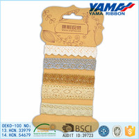 High quality polyester material new design chemical lace/ guipure lace for making dress