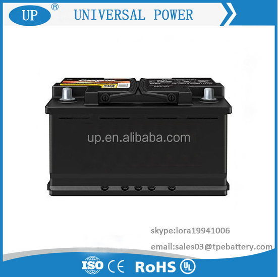 12V Korea Brand Auto Car Battery Dry Battery 12V 66AH with Good Price