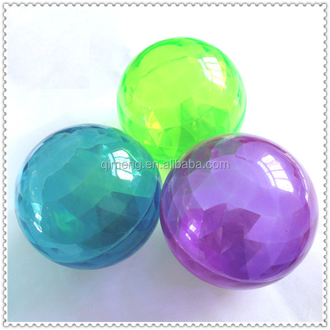 Promotional Kids Toys 80mm Halloween Diamond Bouncing Balls Wholesale