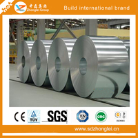 GI prepainted galvanized steel coil of shandong iron and steel