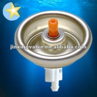 spray valves and plastic lids for aerosol cans