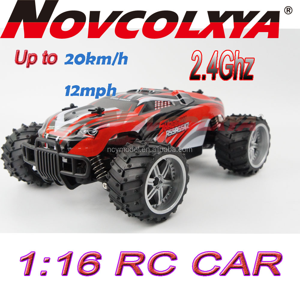 1/16 Scale rc car Electric RTR Remote Control Off-Road Mini Monster Truck