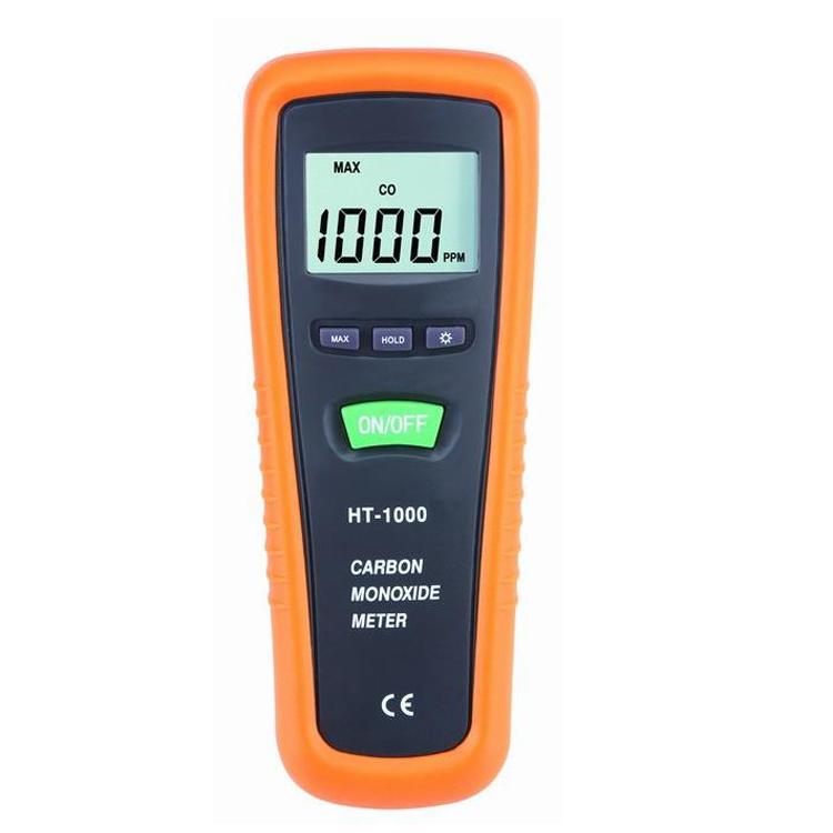 CO Monitor Hand-held portable carbon monoxide meter tester CO gas detector Measuring range 0-1000PPM