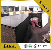 construction plywood formwork plastic film faced plywood
