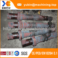 High quality AISI4140 forged shaft blank with BV certificate