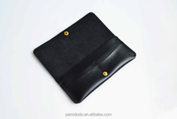 High Quality Top Grain Leather Genuine Cowhide Leather ,pure hand sewing card holdler