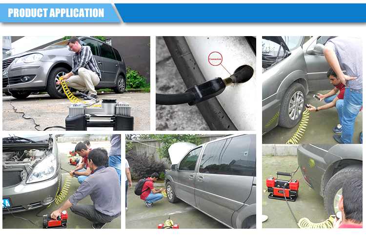 Mini air compressor dc 12v CE certification