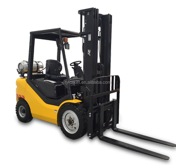 Royal 3.0 ton lpg gasoline forklift with Nissan K25 engine factory price