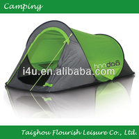 waterproof 2 person single layer pop up tent