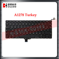 "Turkish Layout for MacBook Pro 13"" A1278 Turkey keyboard Replacement"