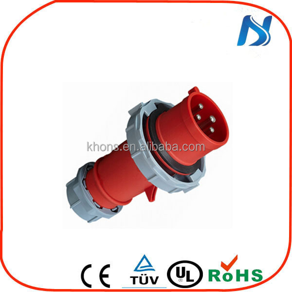 IP44 3P+N+E wall Industrial Socket electrical Plug&socket male and female Industrial plug