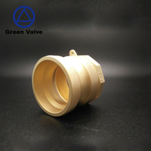 Green-GutenTop Flexible quick connect brass male female thread cam groove type A quick pipe cam lock fittings