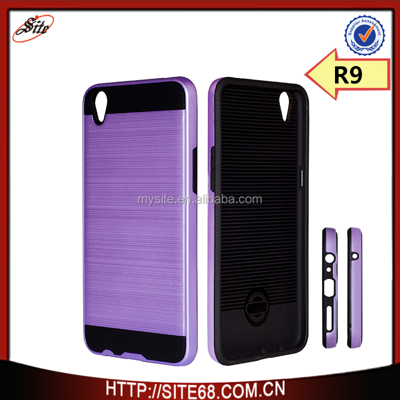 Cool tpu pc 2 in 1 hard case for oppo r9 factory price cover case for oppo f1 plus