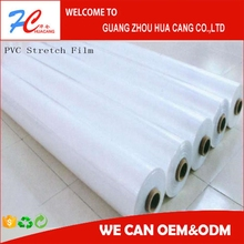 Clear PVC stretch film /soft clear pvc film for mattress packing