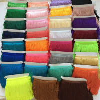 Ready Stock Supply 15cm Polyester Tassel Fringe Trimming for Dresses