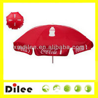 coca parasol cola outdoor umbrella