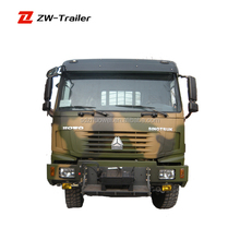 China Sinotruk Howo Manufacture 4x4 6x4 6x6 8x8 10x10 Military Use Army Truck