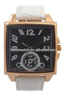 promotional square shape big size quartz 2013 watch for best gift