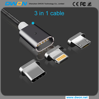 2.4 A High Speed Fast Charging Magnetic Charging Cable/Micro USB Cable