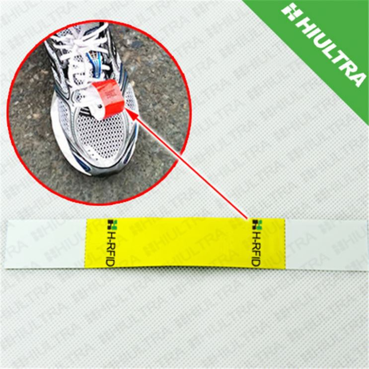 UHF GEN2 chip timing shoe for race