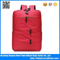 Durable popular nylon daily leisure business backpack college student backpack for sale alibaba