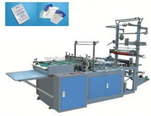 computer rolls-connecting dots-severing bag making machine