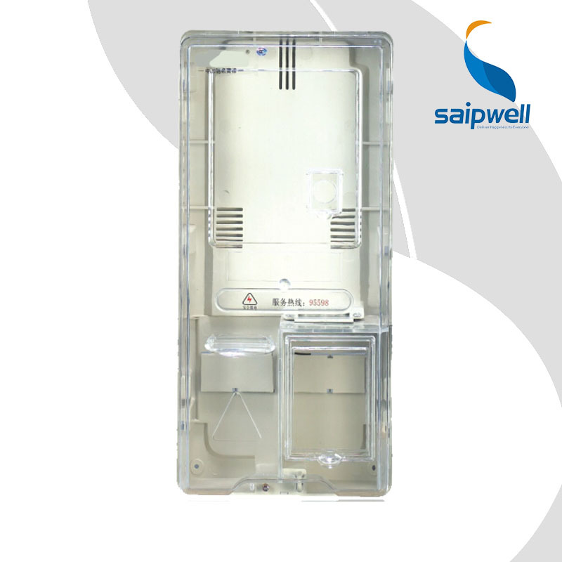 SAIP/SAIPWELL Transparent Case Electric-Meter Smart Electric Meter Box