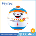 2017 New Flytec 6603 Baby musical tumbler toys with light projection and story snow man plastic roly tumbler toy for kids