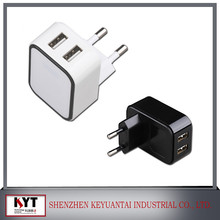 Consumer electronics 5v /12v 5v2a 1a+1a kc adapter for phone,mobile phone,tablet,led with kc,ce,rohs,fcc