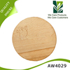 Round shape wood cutting board