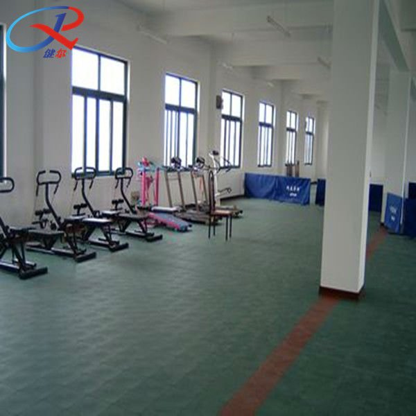 Anti-slip rubber floring roll for heavy machine in gym center