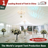 Elegant Decorated Rental Wedding Tent with Dance Floor and Liner