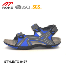 Latest PU Sports Sandal Shoes Factory New Men Beach Sandals