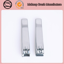 Light metarial factory price straight and curve stainless steel nail clippers for promotion