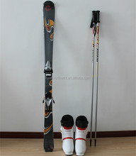 Twin tip for freestyle snow skis