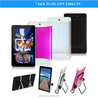 7 inch MTK6572 Tablet PC 4GB Android 4.2 Dual Core 3G WCDMA Phablet GPS Cell Phone WIFI Bluetooth Dual SIM with Holder