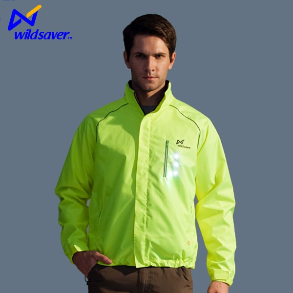 New style glowing fancy safety training bikecycle jersey jacket