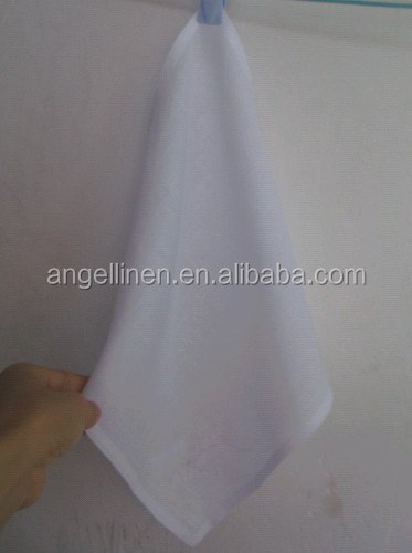 wedding linen handkerchief with embroidery