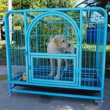 outdoor wire mesh fencing dog kennel designs steel bar dog cage
