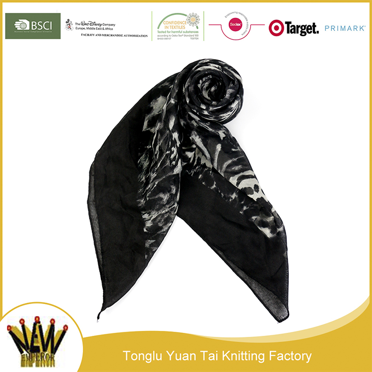 New high quality factory fancy hijab neck warmer scarf
