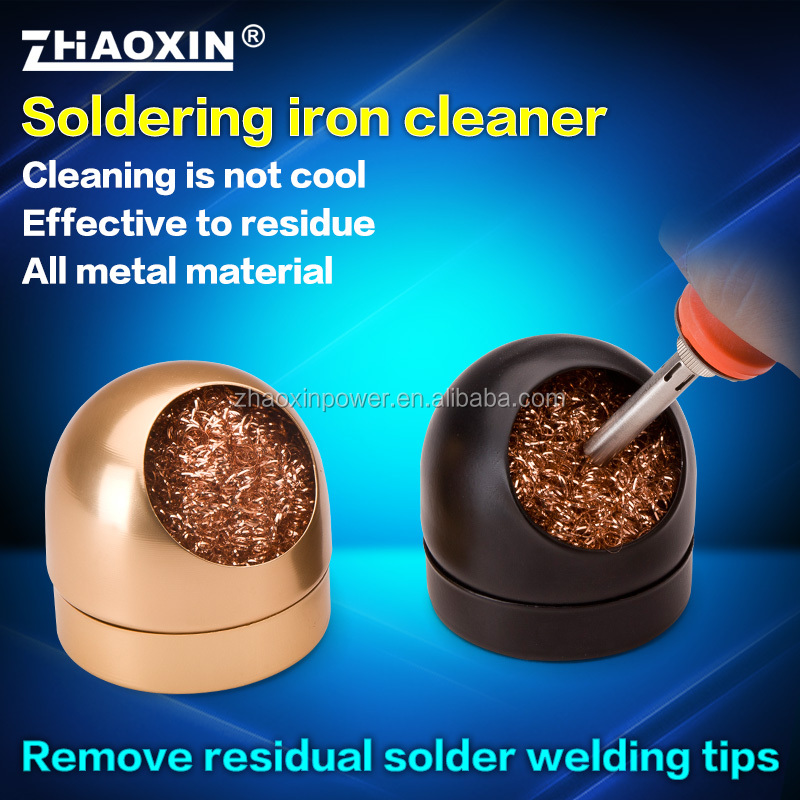 ZHAOXIN Soldering iron cleaner remove tips ball